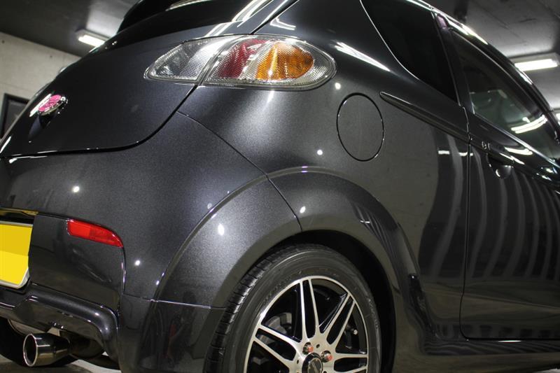 大切にしたい車はしっかりとコーティング!スバルR1のガラスコーティング【リボルト沖縄】