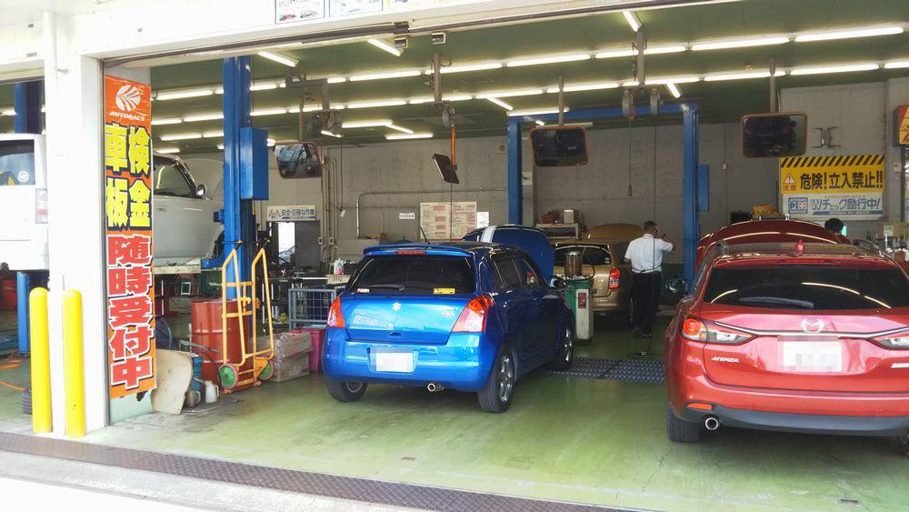 エンジンオイル交換と燃料ライン洗浄