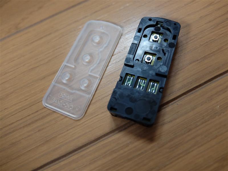 N-BOX+(JF1)キーレス電池交換