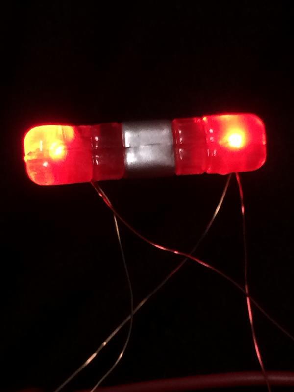 チョロQ TINYQ ハイエース200系 LED電飾 ダミーセキュリティ