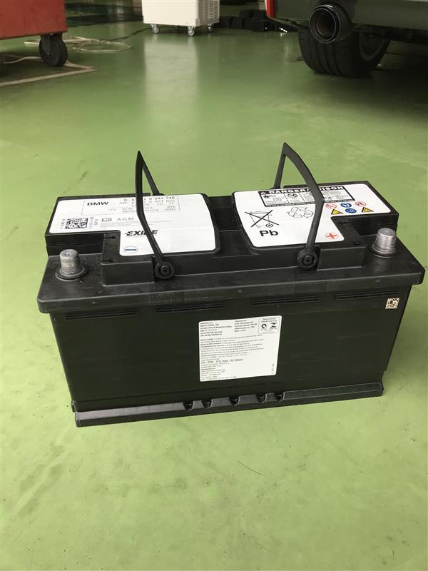 BOSCH BLACK-AGM BLA-95-L5 バッテリー交換