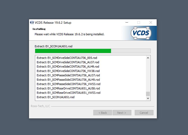 VCDS 19.6.2 Update