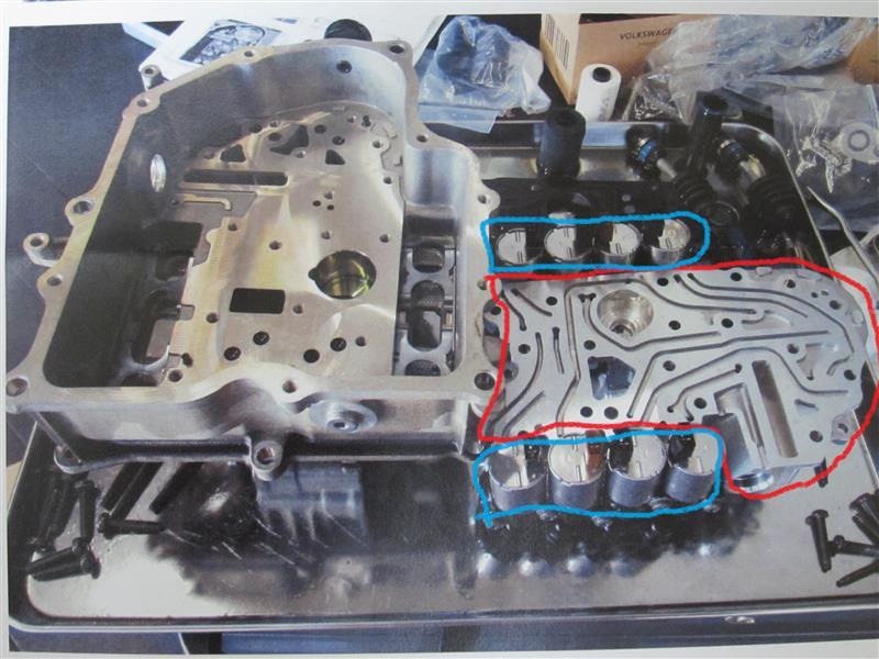 7速乾式Sトロニック リコール修理