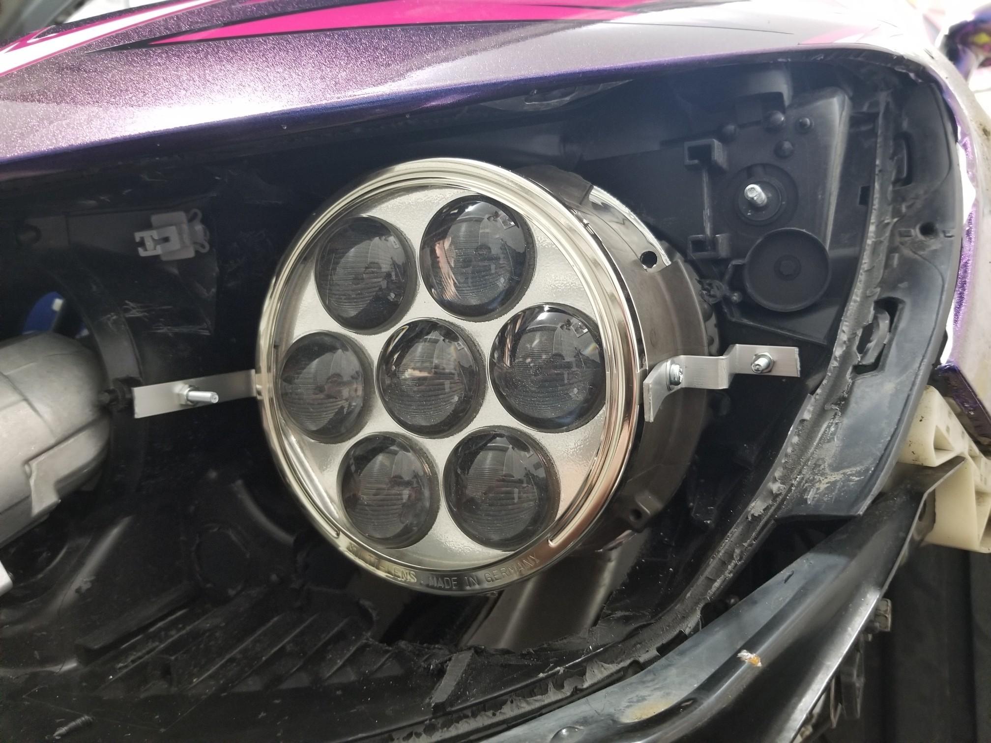 FD2Rヘッドライト・りたーんず②