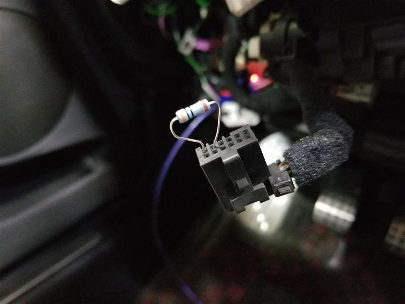 エアバック警告灯の修理【運転席側】