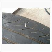 PLEOのパンク修理の画像