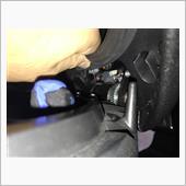 シート開閉スプリング調整の画像