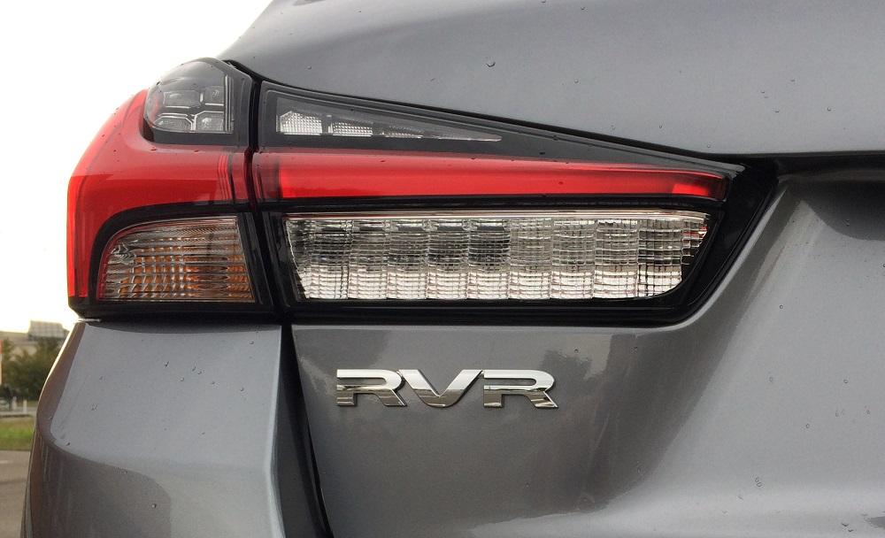 RVR ロゴ エンブレム 除去 / 海外仕様純正 ASX ロゴ エンブレム 装着