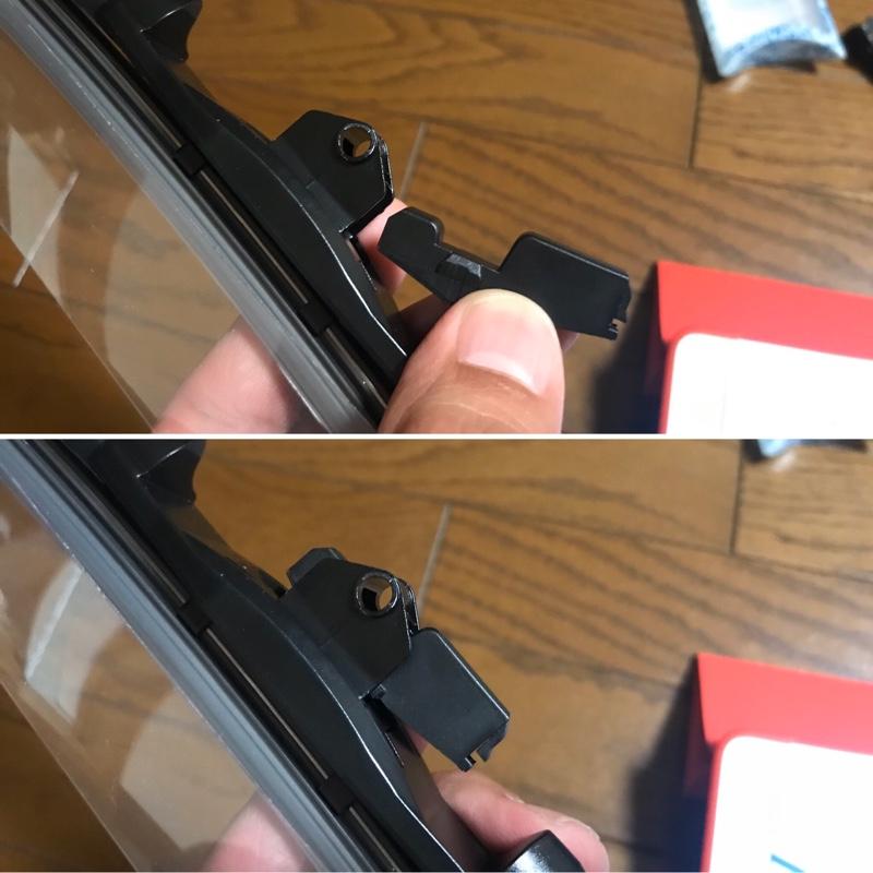 車内静音化計画Part6 Bellofのワイパーに交換作業