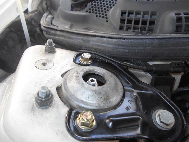 ラルグス車高調インストール&リアショック下部ボルト交換