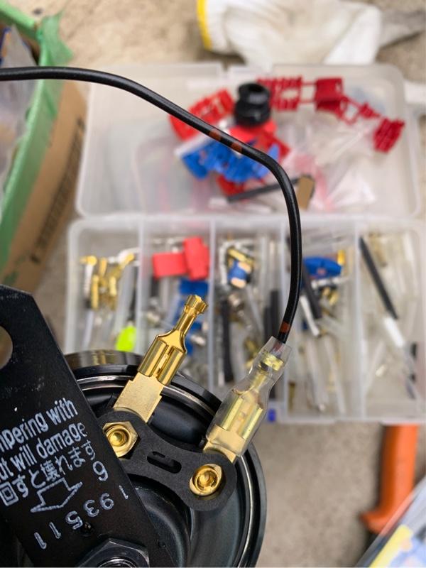 ホーン交換、リヤアンダーカバー修理