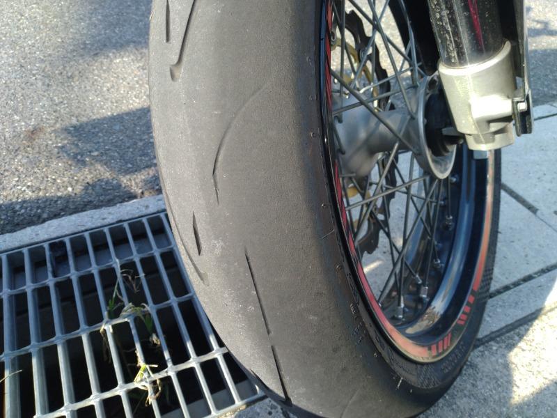 タイヤ交換 FR共に交換 53350km