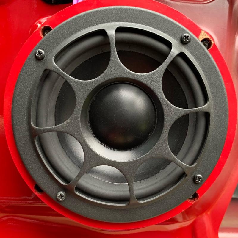147 GTA スピーカー交換・ドアデットニング❷