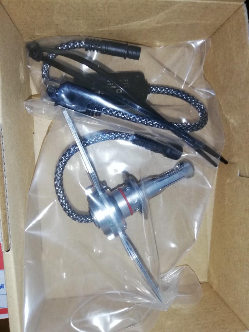 防水キャップ装備車向け XHW08-H7 LEDヘッドライトキット  クロライト その2