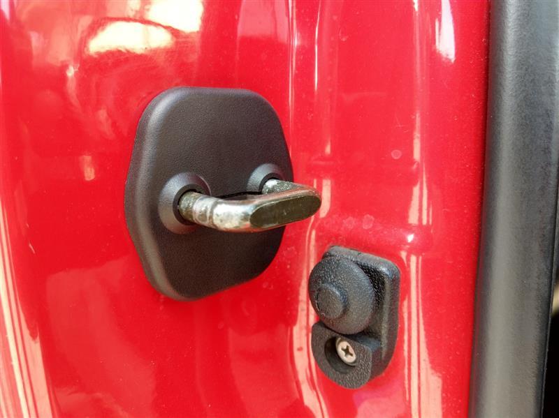 S15 ドアストライカーカバー 取付