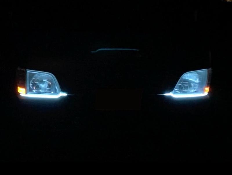 流れるウインカー&LEDポジション