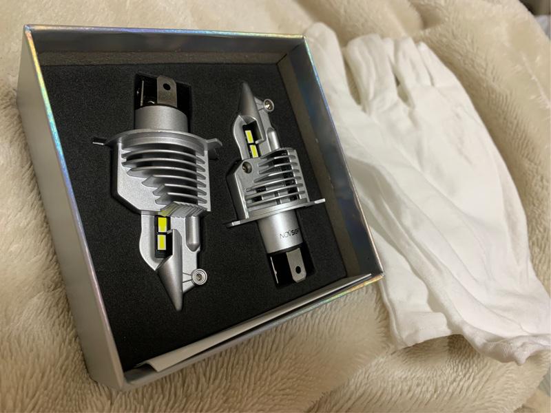 ヘッドライト交換LED化