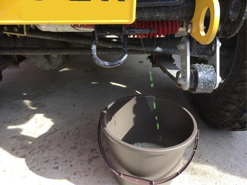 ジムニー 冷却水交換