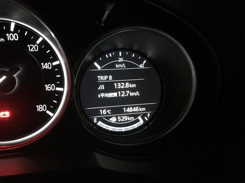 MAZDA純正デイライト不具合(14,800km)