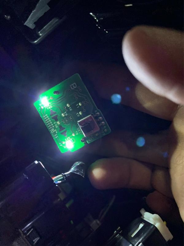 LED打ち変えっ( ゚∀゚) スタートスイッチ周囲編 ②
