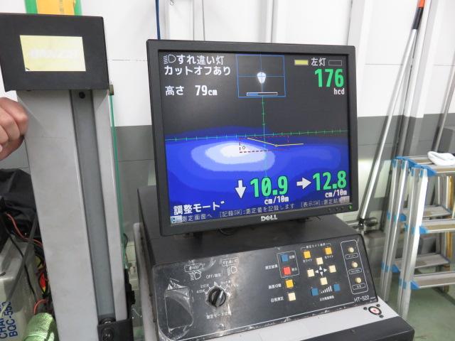 MH34系の車高位置によるオートレベライザー誤動作量