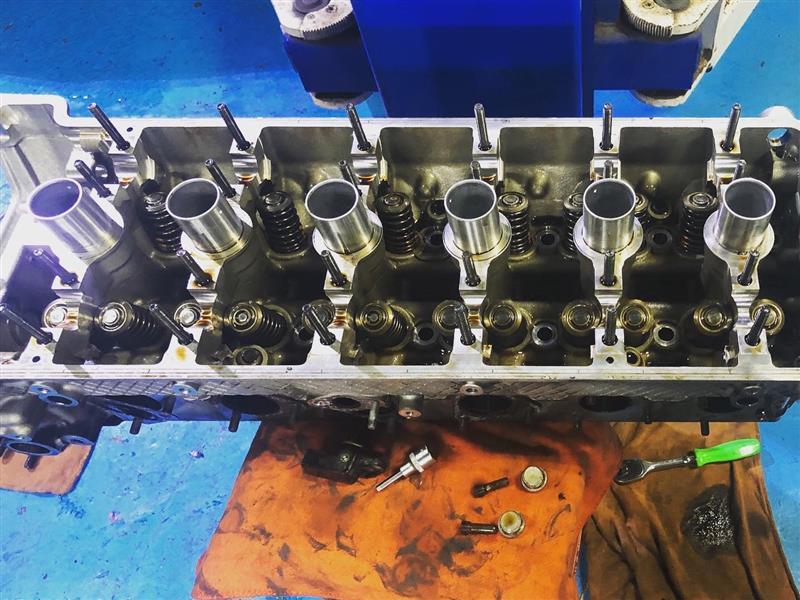 S54エンジン シリンダーヘッド オーバーホール
