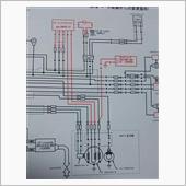 XL125(TLR200)の12V化とバッテリーレス化
