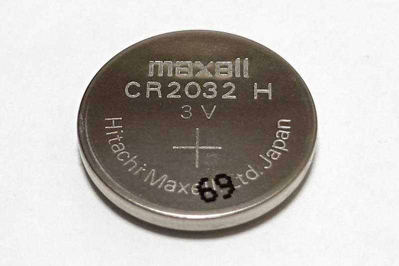 リモコンキー 電池交換
