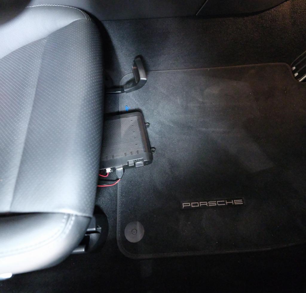 ユピテル 前後カメラDRY-TW9100dドライブレコーダー取り付け
