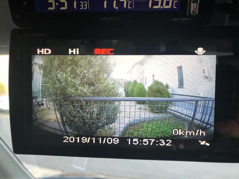 マルチカメラスプリッター MCS293 +フロント、サイドカメラ接続