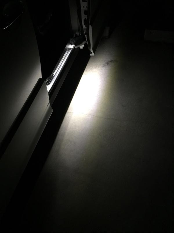 足元を照らす( ˆωˆ )カーテシ助手席…