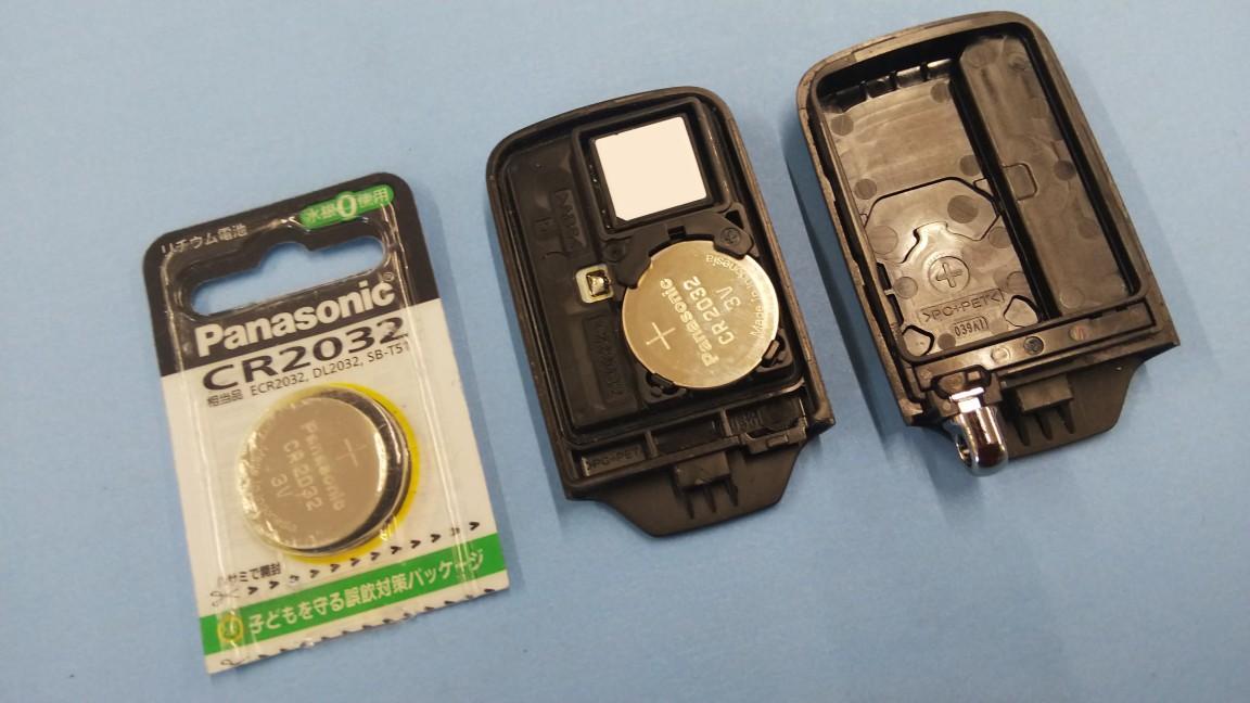 CR2032リチウム電池交換