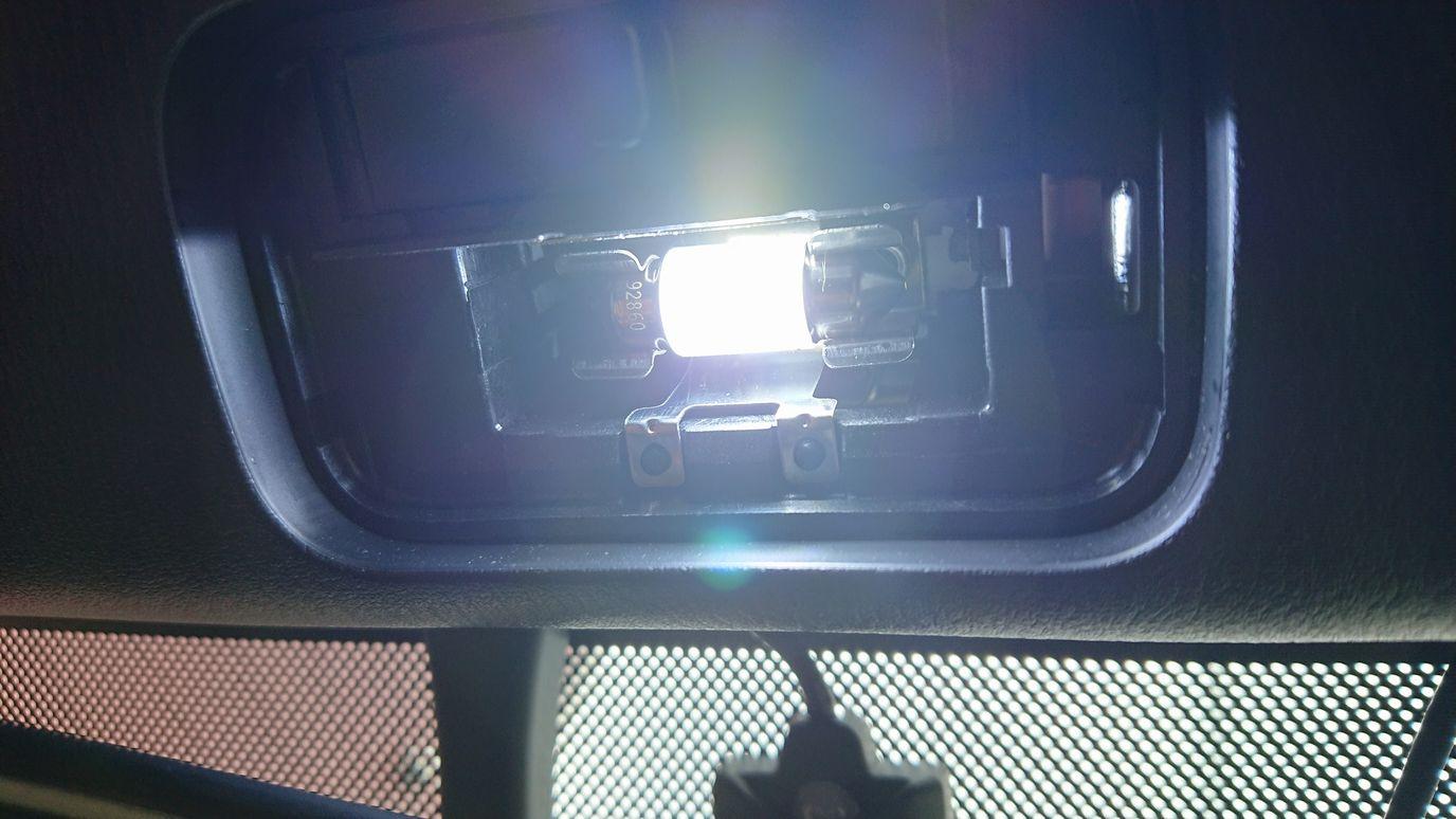 ルームランプ交換/LED化