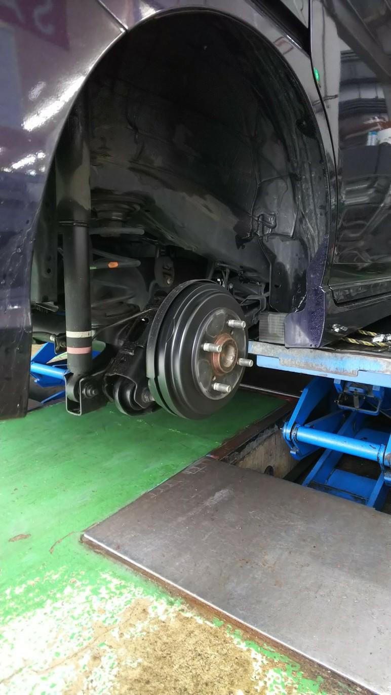 スタッドレスタイヤを新調したよ…65441km時