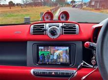 フォーツー エレクトリックドライブ カーナビ&バックカメラ装着のカスタム手順1