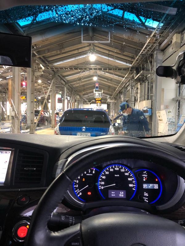 ユーザー車検 87,700km