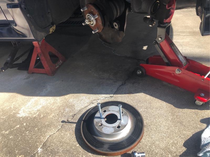 AE111 スプリンター GT フロント・リア ローター交換
