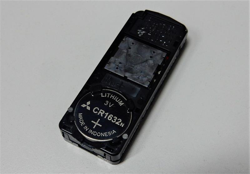 スマートキーの電池交換(3回目)