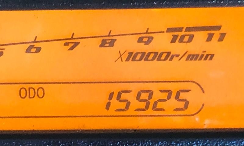 15,925km エンジンオイル交換