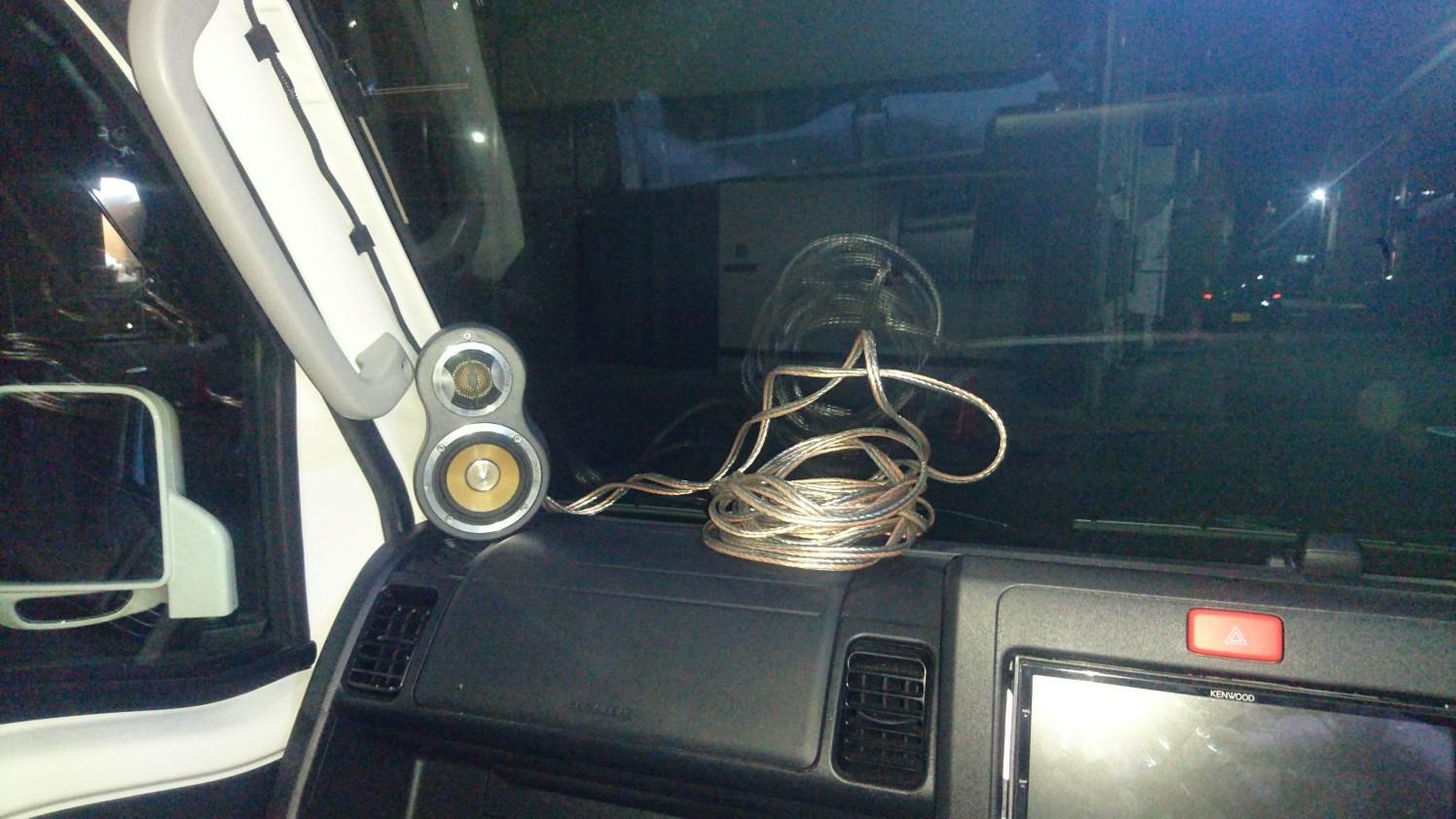 S510Pハイゼットトラックジャンボ用サブウーファーボックス製作⑤
