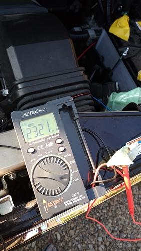 ALLPOWERS ソーラーチャージャー 5W18Vの取り付け