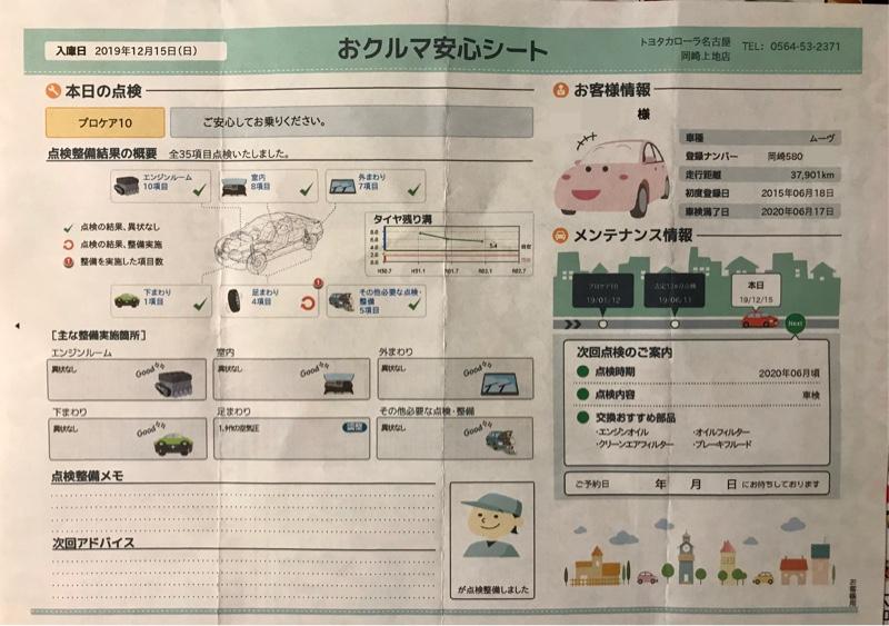 ◆プロケア10(半年点検)の実施(^^)