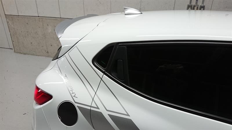 MAXTONDESIGN Clio4 R.S. リアカップスポイラー(RE-CL-4-RS-CAP)