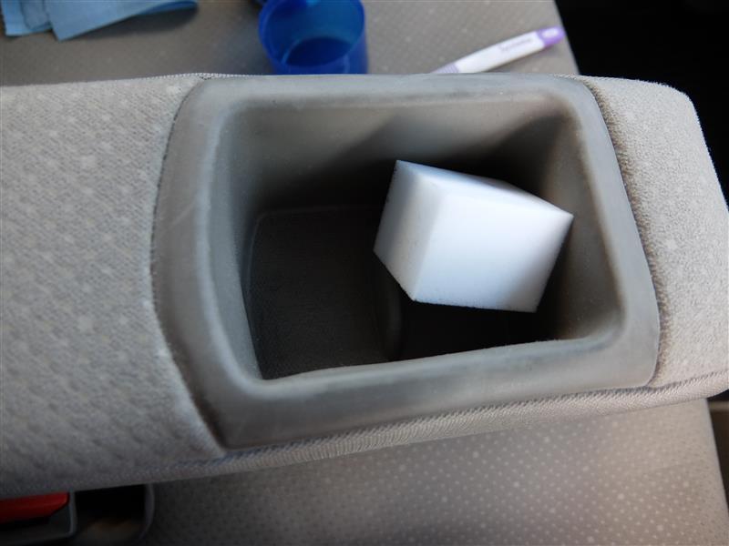 頑固な樹脂製部分の汚れを落とすには・・・