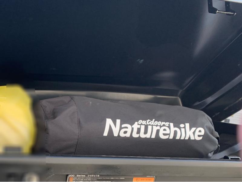最新ギアの確認(naturehike)2