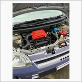 最近全く洗車して無いし、エンジンルームが汚い(笑)