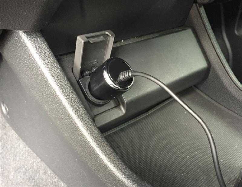 後席に優しい電気分け与えユニット