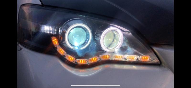 ヘッドライト大加工