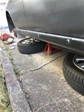 ちょっとずつの車検整備始まり