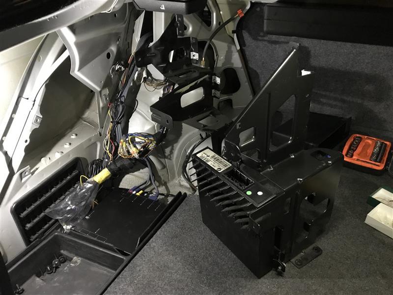E46M3の純正Hi-Fiアンプ撤去&バイパス配線の記録